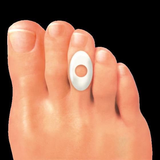 Предпазител за мазолите на пръстите на краката