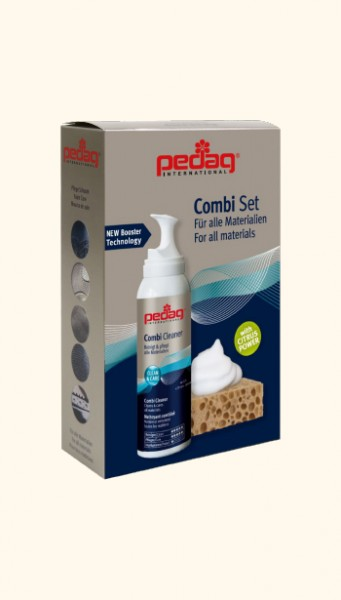 Почистваща пяна с гъба за всякакъв тип материи PEDAG Бои и Козметика