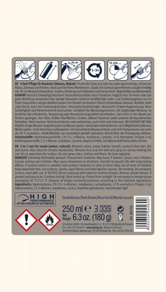 Спрей възстановител на цветове за набук и велур PEDAG Бои и Козметика