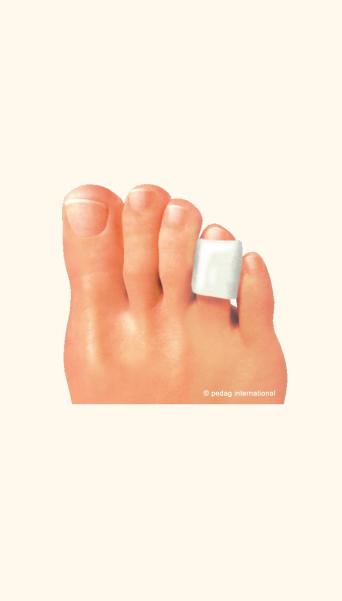 Предпазител за ранички/протривания по пръстите