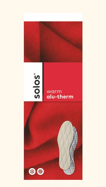 Термо стелка с пресована вълна SOLOS Стелки и Аксесоари